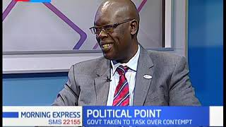 A defiance government and a toothless judiciary | POLITICAL POINT