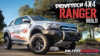 DRIVETECH 4X4 RANGER BUILD // Rival 4x4 Bullbar, Enduro Pro Suspension, Underbody Armor, Flares