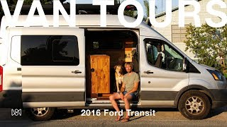 Van Tours: Photographer Ben Moons 2016 Ford Transit