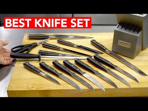 Best Kitchen Knives To Buy In 2017 (ULTRA SHARP!)