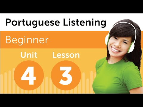 Brazilian Portuguese Listening Practice - Renting a DVD in Brazil