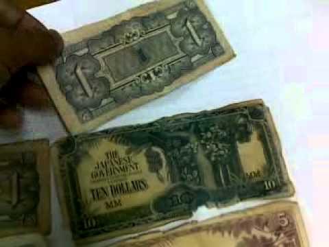 MONEY(OLD MONEY)(JAPAN & MALAYSIA)