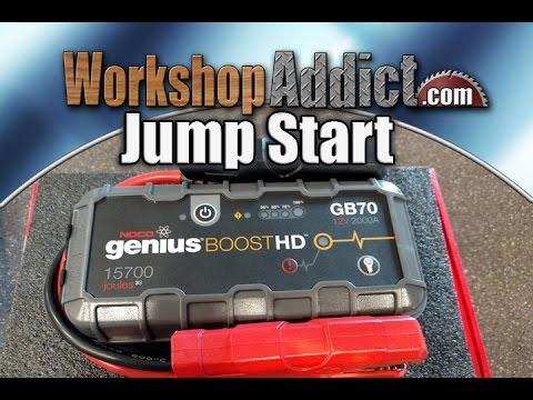 Noco GB70 genio Boost (2000A, 5000mAh)
