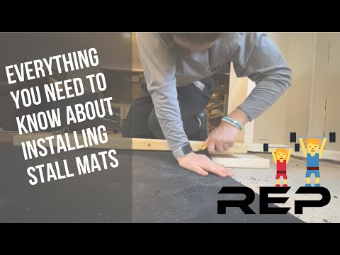 How to Install Stall Mats - Rep Fitness Gym Mats