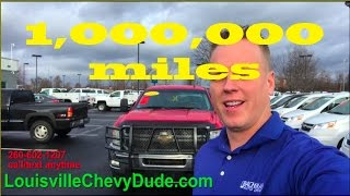 1 million mile duramax diesel truck. yes 1,000,000 miles on this 2011 Duramax diesel truck