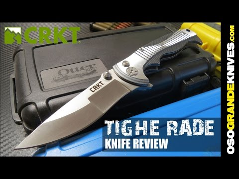 CRKT Tighe Rade Folding Knife Review | OsoGrandeKnives
