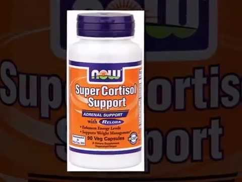 Buy Now Foods Super Cortisol veg caps, supports healthy adrenal function | Herbspro.com