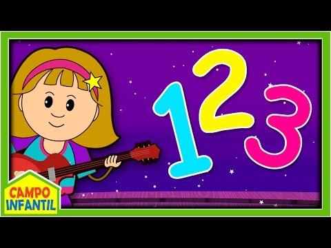 Canciones de Números para Aprender a Contar | Campo Infantil