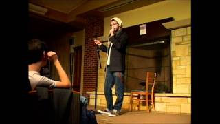 preview picture of video 'AVW Presents: John Thadius - Athens Open Mic, 11/12/2011'