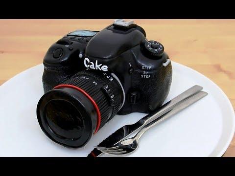 Идея торта для фотолюбителя