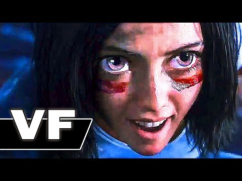 ALITA BATTLE ANGEL Bande Annonce VF (2018) NOUVELLE, Science Fiction