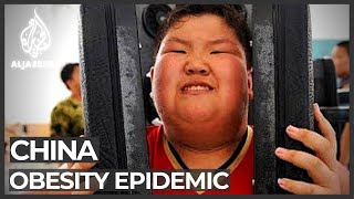 🇨🇳 Super-sized children sent to China's fat camps | 肥胖的孩子