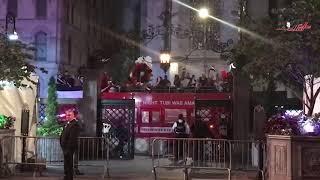 الجالية المصرية تجوب نيويورك احتفالًا بقدوم السيسي للمشاركة في «الأمم المتحدة»