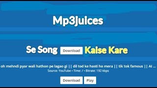 Mp3juices Se Song Download Kaise Kare
