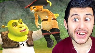 ÇİZMELİ KEDİ VS SHREK!! (Shrek 2 The Game #2)