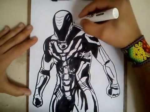 COMO DIBUJAR A MAX STEEL - MAX STEEL MOVIE / how to draw max steel - max steel movie