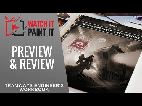 Tramways Engineer's Workbook - Kickstarter Preview and Review