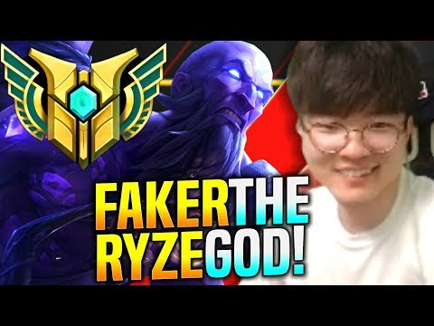 FAKER THE RYZE GOD IS BACK! - SKT T1 Faker Plays Ryze vs Lucian Mid | SKT T1 Faker KR SoloQ