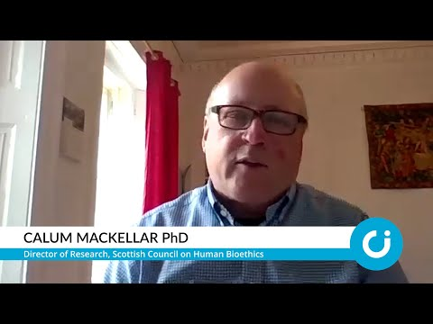 Bioethics' biggest concern is tackling inequality: Calum Mackellar PhD