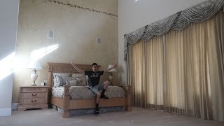 PICKING MY ROOM AT THE NEW HOUSE!!