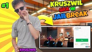 *Kruszwil gra w JailBreak!* Roblox PL