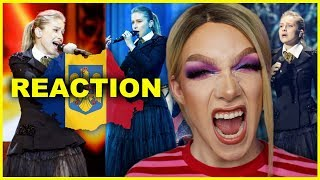ROMANIA - Ester Peony - On A Sunday - LIVE | Eurovision 2019 Reaction