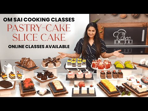 Cake Pastry & Slice Cake Class to join call☎️☎️8551 8551 03, 788 786 6677 by Om Sai cooking Classes