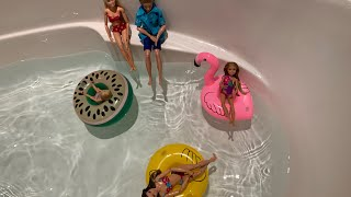 Barbie- Indoor Pool Party