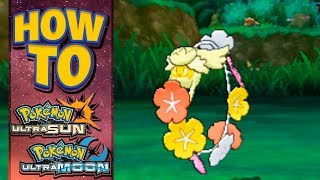 HOW TO GET Comfey In Pokemon Ultra Sun And Moon