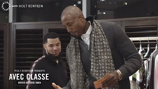 Serge Ibaka throws down with Fred VanVleet to improve his fashion game | AVEC CLASSE