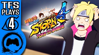 Naruto Ultimate Ninja Storm: Road To Boruto Part 4 - TFS Plays