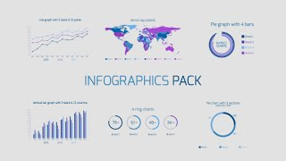 Infographics Pack ( After Effects project) ★ AE Templates