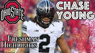 Chase Young Ohio State Ultimate Freshman Highlights Tape Mix Buckeyes 2017