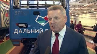 Губернатор Вячеслав Шпорт принял участие в церемонии запуска