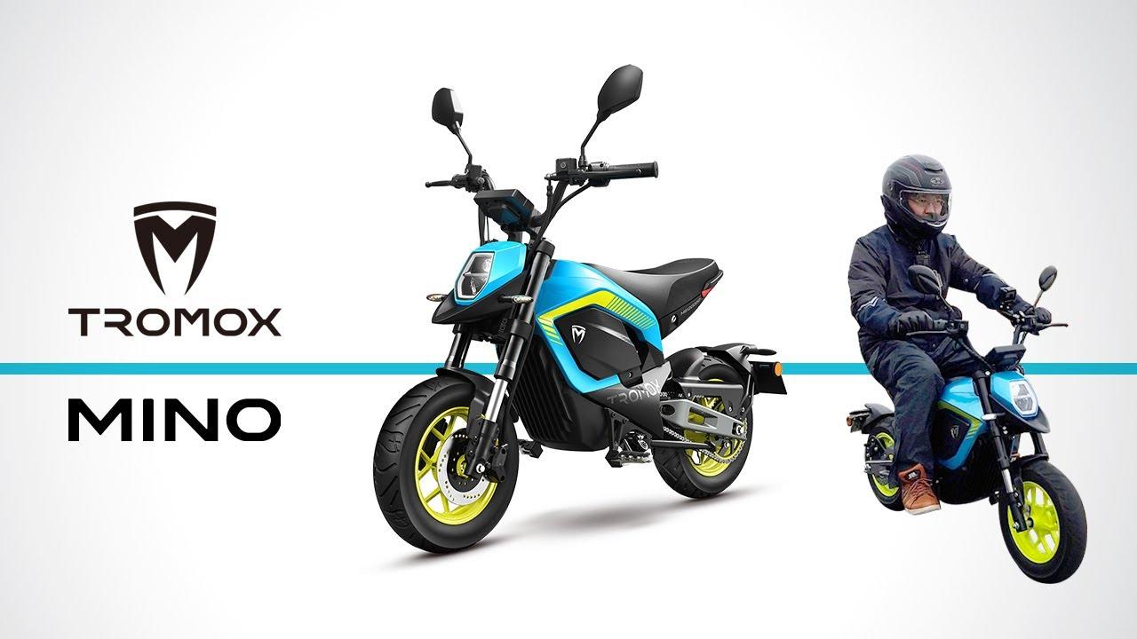 【新登場】運転免許で乗れる電動ミニバイク「TROMOX MINO」ホンダグロムのようなサイズ感の原付が日本上陸!スペック紹介 / 試乗インプレ【XEAM】