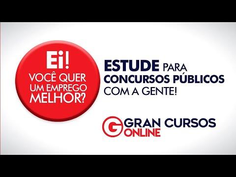 Estude para concursos públicos com o Gran Cursos Online!