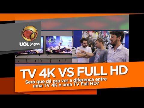 Teste: dá pra ver a diferença entre uma TV 4K e uma TV Full HD?