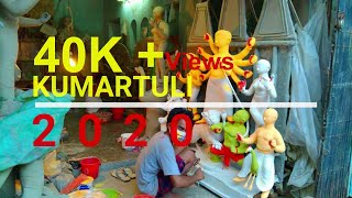 KUMARTULI 2020 | কুমারটুলি MAHALAYA | DURGA PUJA 2020 | LAST MOMENT WORK OF IDOL MAKERS | SUMAN PAUL  IMAGES, GIF, ANIMATED GIF, WALLPAPER, STICKER FOR WHATSAPP & FACEBOOK