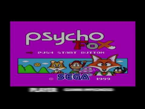 PSYCHO FOX (SEGA MASTER SYSTEM 1989) - GIANNI IMPEGNOSO