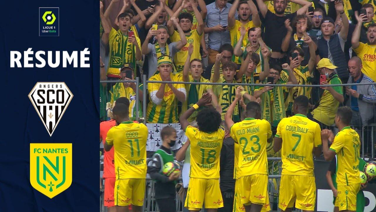 ANGERS SCO - FC NANTES (1 - 4) - Résumé - (SCO - FCN) / 2021/2022