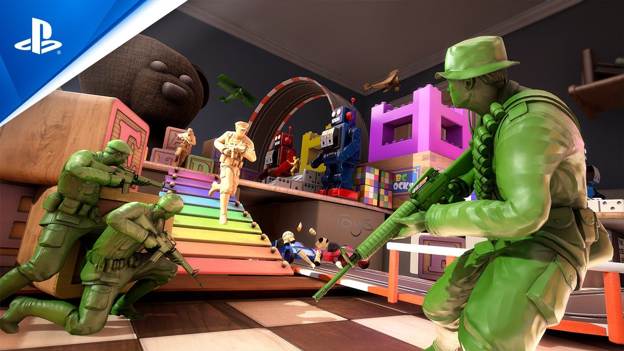 The Mean Greens: Plastic Warfare ab dem 05. August auf PS4 – stürzt euch in den Kampf!