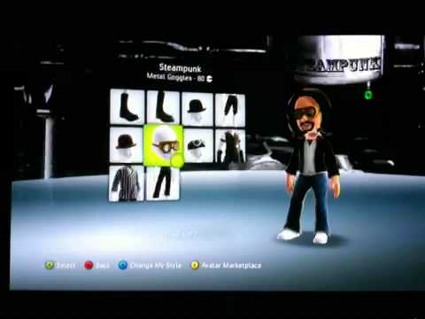 Xbox 360 Avatar Marketplace: Giant Cotton Swabs To Steampunk Goggles