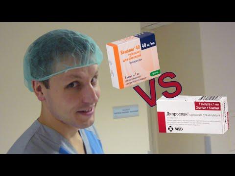 Что лучше, кеналог или дипроспан?