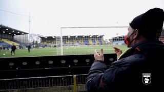 Terugkeer van supporters in het Cambuur Stadion tijden SC Cambuur - De Graafschap