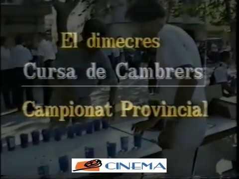 FERIA OLIVA 1991.  Carrera Camareros.