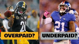 5 NFL Free Agents that were GROSSLY OVERPAID in 2019... and 5 that Were UNDERPAID