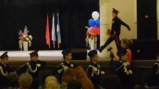 Кашира. Присяга кадетов школы №8 19 октября 2017