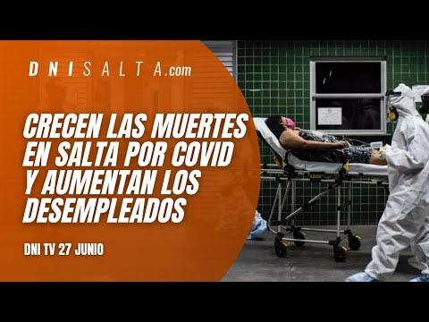 Video: DNI TV: Crecen las muertes por Covid-19 y cada vez hay más desocupados.