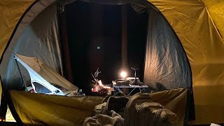 """EP:7【キャンプ】Solo camping with new tent """"Robson3"""""""
