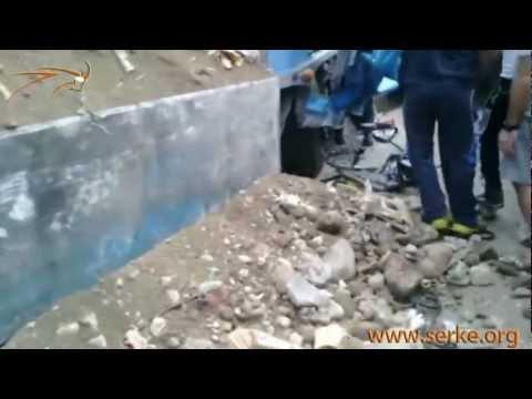 Алматы: қытайдың жүк көлігі 2 адамды өлтірді, 13 машинаны қиратты